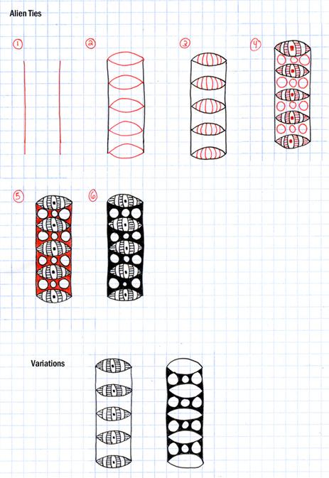 Alien Ties | Artistic Line Designs-all free | Scoop.it