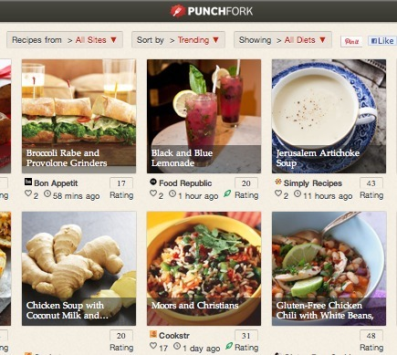 Curate The Curators - Create Cool Visual Lists By Picking From The Best Recipe Curators Out There: Punchfork | SocialMediaDesign | Scoop.it