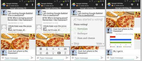 Google Babble : premières images de la messagerie unifiée de Google ?   Geeks   Scoop.it