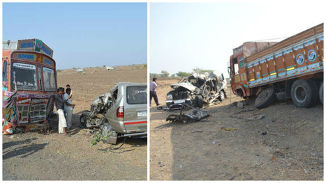 5 Killed, 2 Kids Injured in Road Accident in Bhavnagar | news | Scoop.
