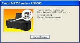 Resetter canon pixma mp258 free download | driver printer.