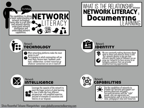 Network Literacy and Documenting Learning | Edulateral | Scoop.it