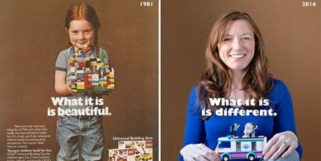 Here's What The Girl In That Iconic LEGO Ad Thinks Now | Advertising & Media | Scoop.it