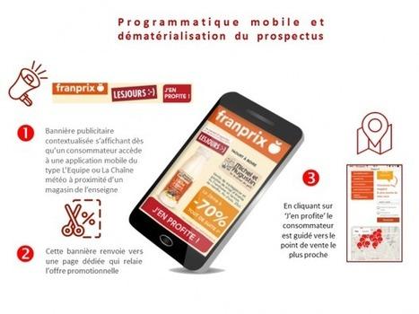 France : HighCo assure la promotion des prospectus de retailers via des campagnes programmatiques mobiles géo-localisées | Mobile & Magasins | Scoop.it