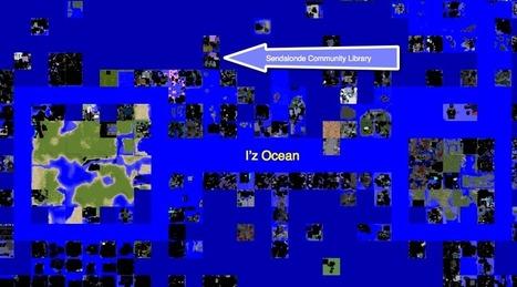 Sendalonde Community Library moves to Magellan Sea in InWorldz | Metaverse Library | Happenings - Virtual Worlds | Scoop.it