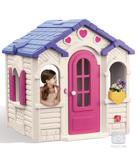 4dafee643f79e Step2 Sweetheart Playhouse-A home of their own for kids - kidskouch.com