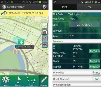 Supergeo to Release Forest Inventory App for Android Users | GIS Móvel | Scoop.it