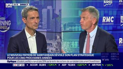 Saint-Gobain confiant sur sa capacité à profiter de la transition écologique dans le bâtiment