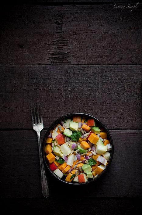 Sweet Potato, Apple and Avocado Salad (Paleo, Gluten Free, Vegan) | Truly Healthy Recipes | Scoop.it