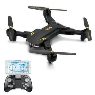 Visuo Xs809s Battles Sharks 720p Wifi Fpv With Wide Angle Hd Camera Foldable Rc Quadcopter Rtf