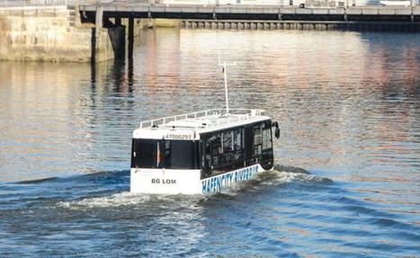 Riverbus, l'autobus qui se prend pour un bateau - Autofocus.ca | Allemagne tourisme et culture | Scoop.it