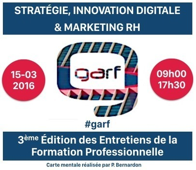 GARF : Les Entretiens de la Formation Professionnelle | Mind Mapping au quotidien | Scoop.it