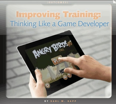 Improving Training: Thinking Like a Game Developer | Reading and Writing Connection | Scoop.it
