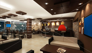 Restaurant Interior Design Firms Oman | Interior Fit Out Companies Muscat |  Real Visions Interiors