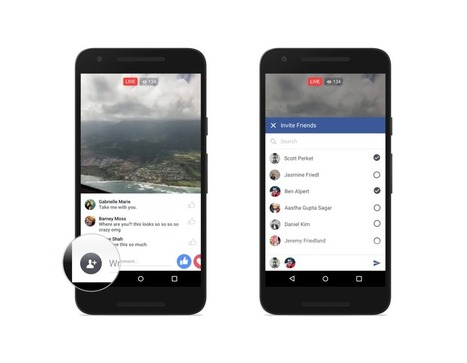Introducing New Ways to Create, Share and Discover Live Video on Facebook | Facebook Newsroom | SocialMediaFB | Scoop.it