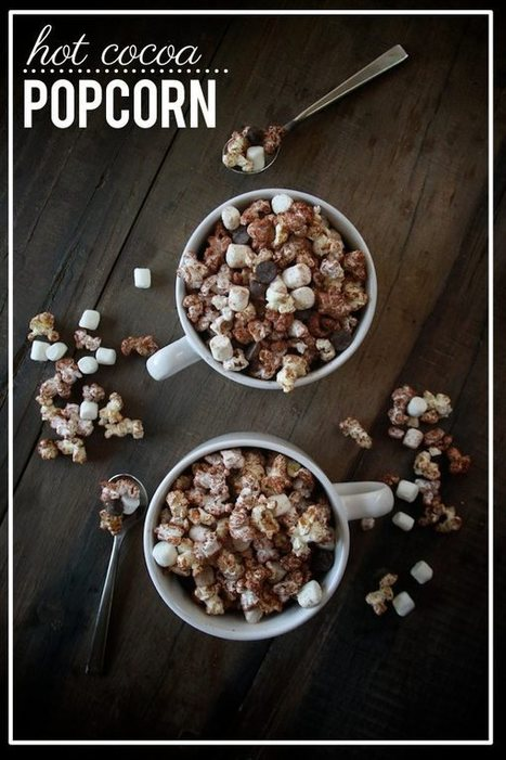 Hot Cocoa Popcorn – Shutterbean | À Catanada na Cozinha Magazine | Scoop.it