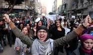 Egyptian women protest in Cairo against brutal treatment | Coveting Freedom | Scoop.it