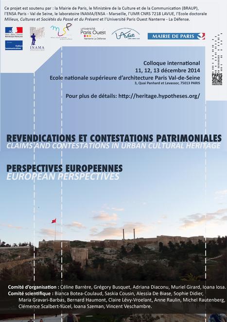 Site : Patrimoine en conflits – Conflits de mémoire et de représentations : France – Roumanie – Turquie | Géographie de la mémoire | Scoop.it