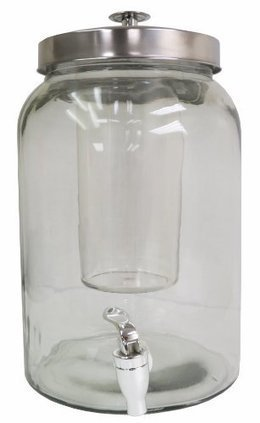 FineLife Acrylic 2 liter Infusion Drink Pitcher with Ice Chiller Idea Source Marketing