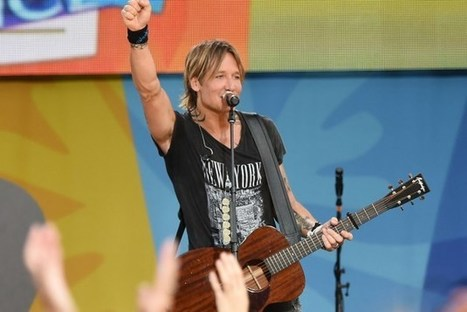 Keith Urban Hits No. 1 With 'Blue Ain't Your Color' | Country Music Today | Scoop.it