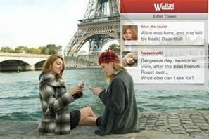 Una nueva aplicación llamada Wallit combina realidad aumentada con una experiencia social | Cultura y Second Life | Scoop.it
