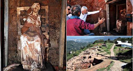 Une statue en marbre de la déesse mère Cybèle découverte en Turquie | Histoire et Archéologie | Scoop.it
