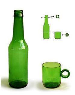 Cómo cortar botellas de vidrio   HTM_DIY - Artesanías   Scoop.it