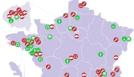 La carte de France des alternatives : 89 révolutions locales pour un changement global | Economie sociale et solidaire, Alternatives | Scoop.it