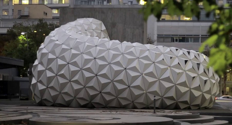 designplaygrounds.com » Archive » ArboSkin Bioplastic Façade Research (ITKE) | Parametric Architecture and Design | Scoop.it