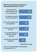 """Leading in a """"Material World"""" - The Sustainability Outlook 2013 Survey 