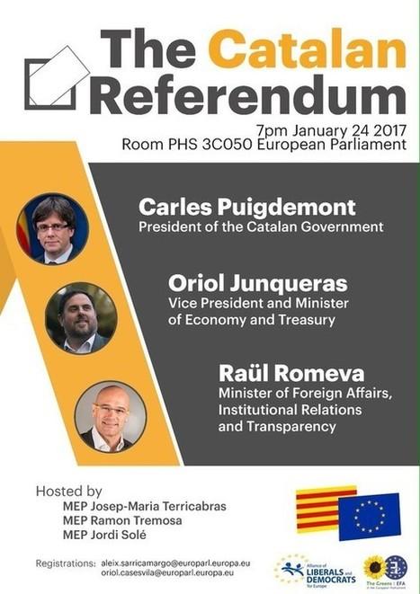 El Parlamento Europeo se desmarca de la conferencia de Puigdemont, El Periódico de Cataluña   Diari de Miquel Iceta   Scoop.it