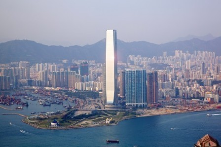 [Hong Kong, China] International Commerce Centre / KPF   The Architecture of the City   Scoop.it
