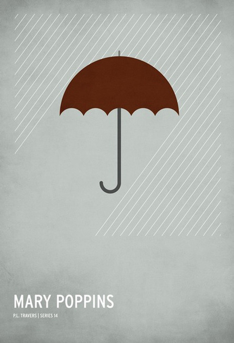 Minimalist Children's Story Posters | GBlog | Visual Literacy | Scoop.it