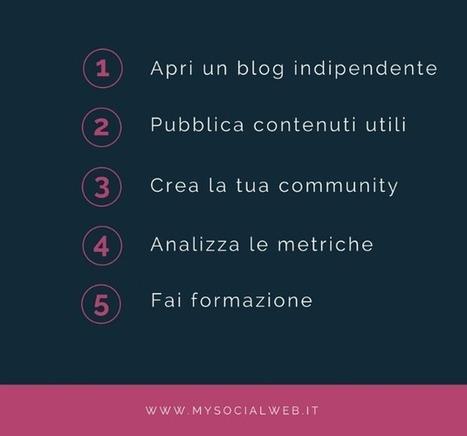 Aprire un blog professionale: 5 pilastri indispensabili | Marketing relazionale e Social Media | Scoop.it