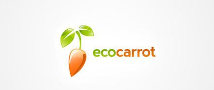 A 26 Crunchy Carrot Logo Designs Collection - Naldz Graphics | Beautiful and creative logos | Scoop.it