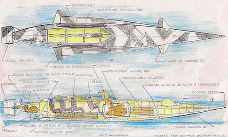 Sommergibile Nessie, in grado di navigare in superficie e in immersione | Nautica-epoca | Scoop.it