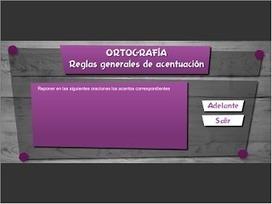 Reglas generales de acentuación. Argentina, Ministerio de Educaión, EDUC.AR | RECURSOS PARA EDUCACIÓN Y BIBLIOTECAS | Scoop.it