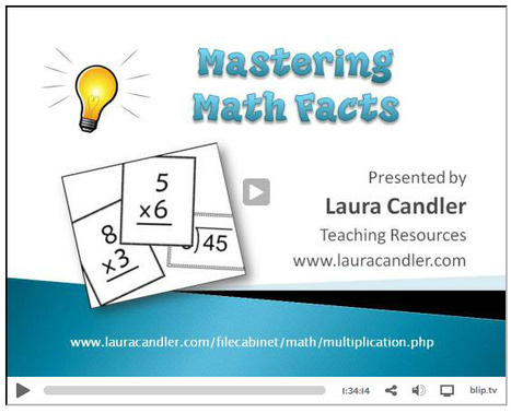 Math Fact Cafe Multiplication Flash Cards | Mul...