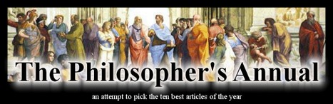 Philosopher's Annual | phillosophy makes my mind go round | Scoop.it