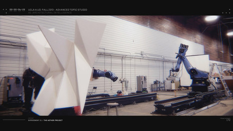 Robot Choreography and the Smart Future of Responsive Architecture | Aural Complex Landscape | Scoop.it