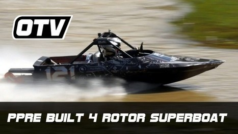 1300HP JetSprint Superboat - Speed Society | Wandering Salsero | Scoop.it