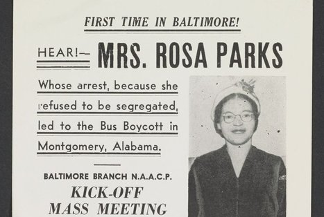 Rosa Parks' Papers Are Now Online | We Teach Social Studies | Scoop.it