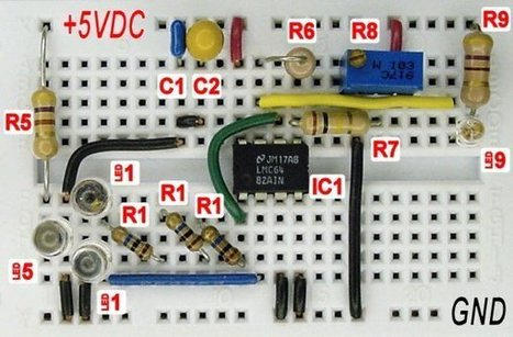 Sensing Color With a LED and Op Amp | Maker Stuff | Scoop.it