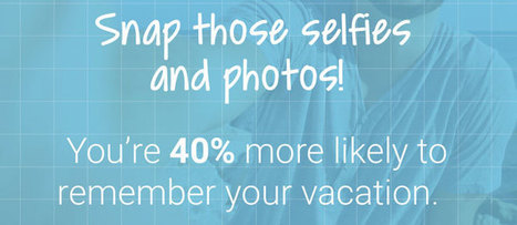 Travellers who take selfies remember their trips better | Tourism Social Media | Scoop.it