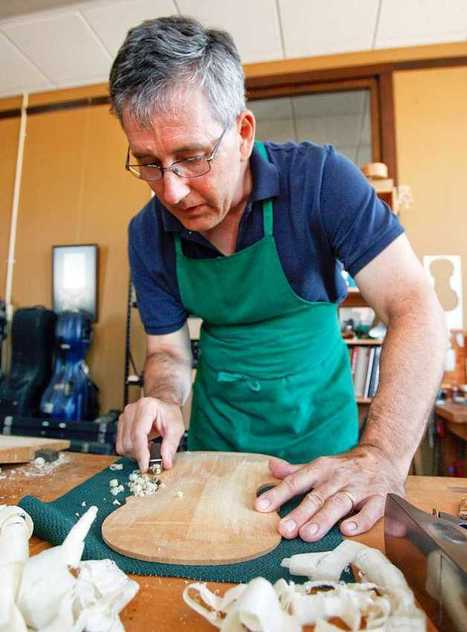 Lawrence man creates violins in downtown shop | cjonline.com | OffStage | Scoop.it