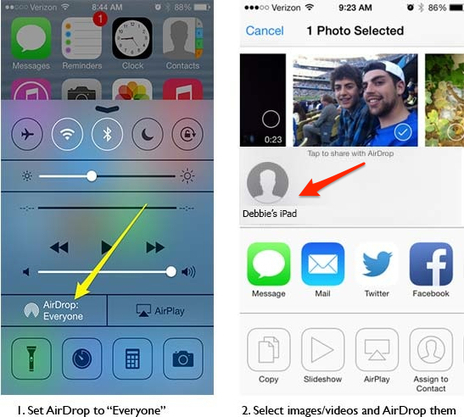 Simple Sharing of iPad Images and Videos | Ubiquitos Learning | Scoop.it