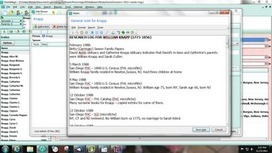 Genea-Musings: Research Logs in Genealogy Software | Geeks and Genealogy | Scoop.it