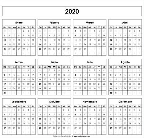 Calendario 2020 Portugues Com Feriados.Blank August Calendar Printable Custom August