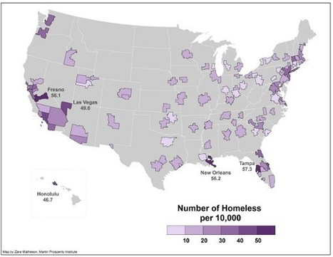America's Real Homeless Hotspots | Geography Education | Scoop.it
