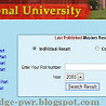www.nu.edu.bd National University Exam Result Result 2014